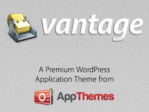 Vantage best WordPress template