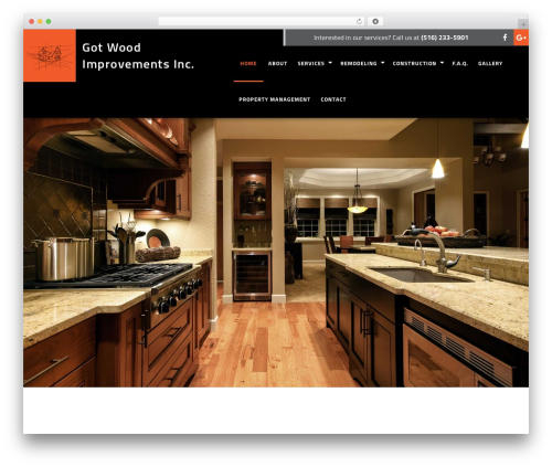 WordPress template General Contractor 6 - gotwoodimprovements.com