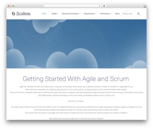 WordPress template Satellite7 - deltamatrix.com