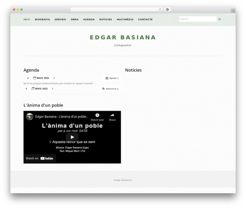WordPress theme Activello - edgarbasiana.com