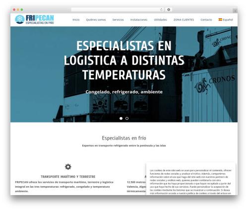 WordPress theme Alchem Pro - fripecan.com