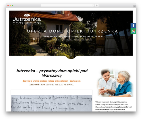 WordPress theme Narcos - domopiekiseniora.com