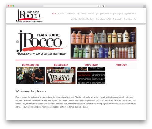 WordPress website template Headway Base - jrocco.com