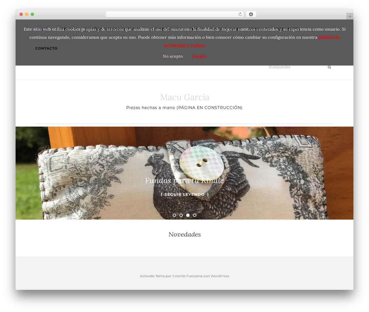 Activello theme WordPress free - macugarcia.com