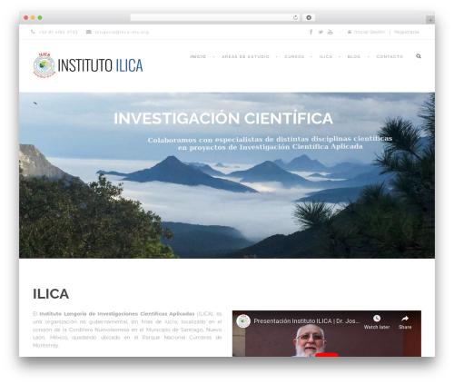 Best WordPress theme Clever Course - ilica-mx.org