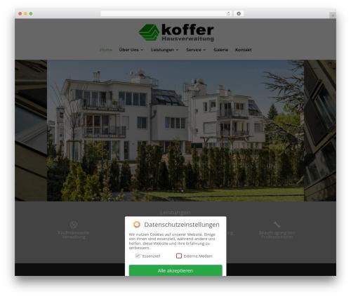 Divi WordPress website template - hausverwaltung-koffer.com
