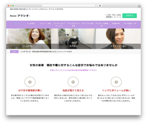 Emanon Business WordPress theme - axio-wig.com