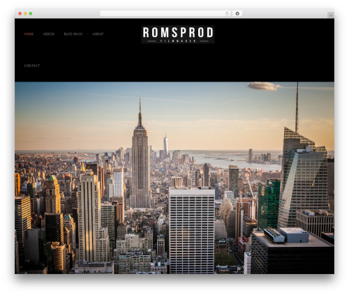 Fliper WordPress theme - romsprod.com