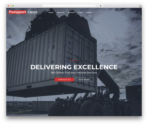GoCargo WordPress page template - pumpportcargo.com