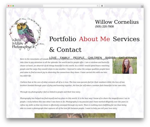 Inspiro WordPress theme - whitewillowtahoe.com