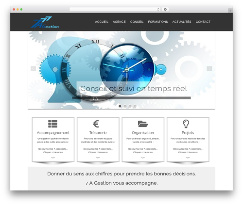 isis template WordPress free - 7agestion.fr