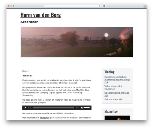 Kvarken best WordPress theme - harmvandenberg.com