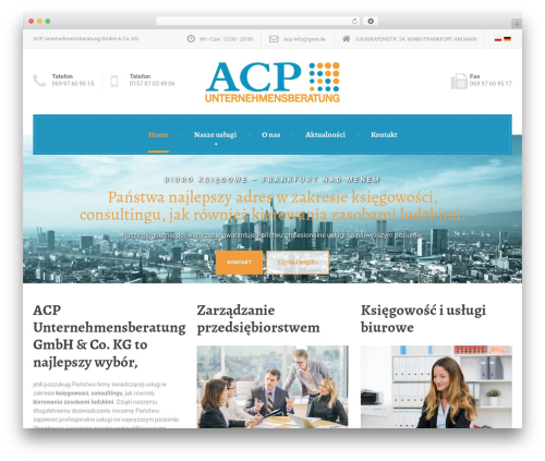 LegalPress by ProteusThemes WordPress page template - acp-service.com