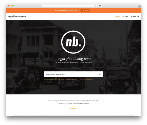 Movedo WP theme - negorijbandoeng.com
