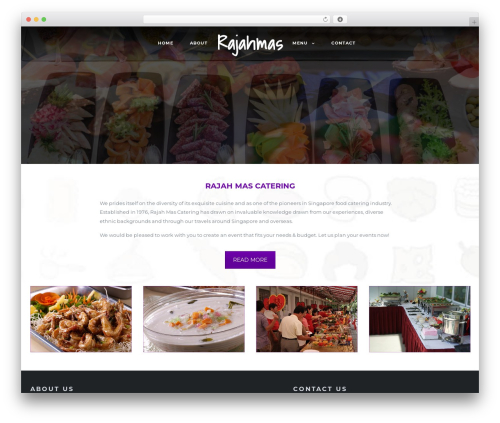 Niku WordPress theme - rajahmas.com