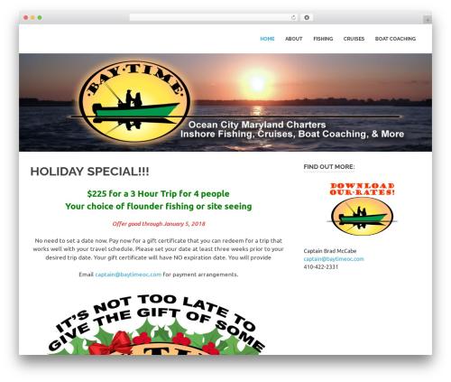 Poseidon WordPress theme download - baytimeoc.com