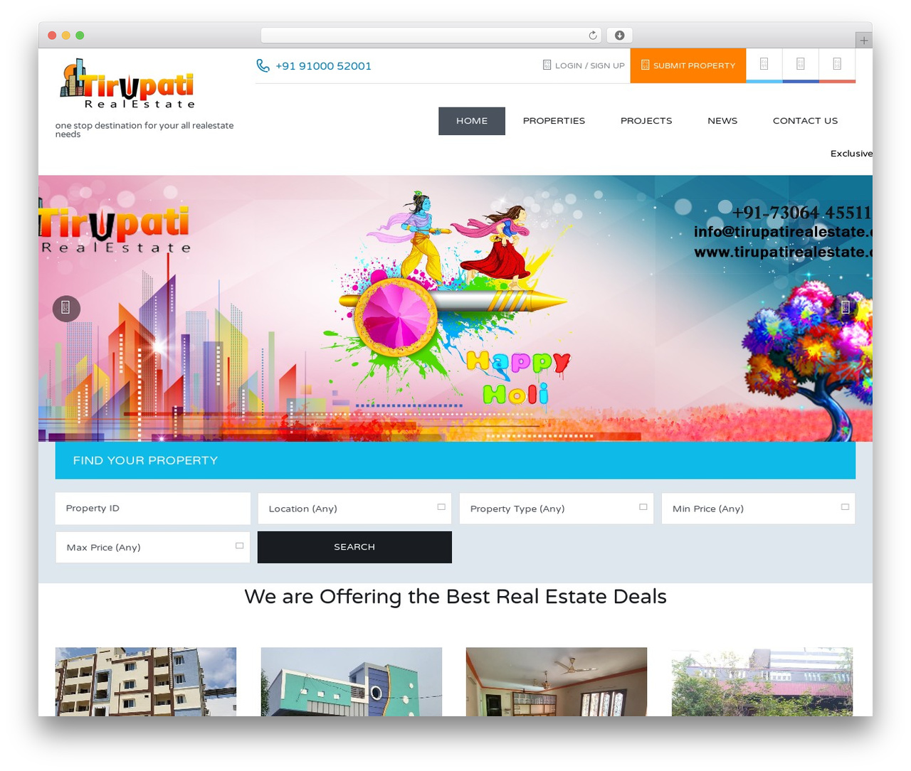 Real Places Wordpress Website Template By Inspiry Themes