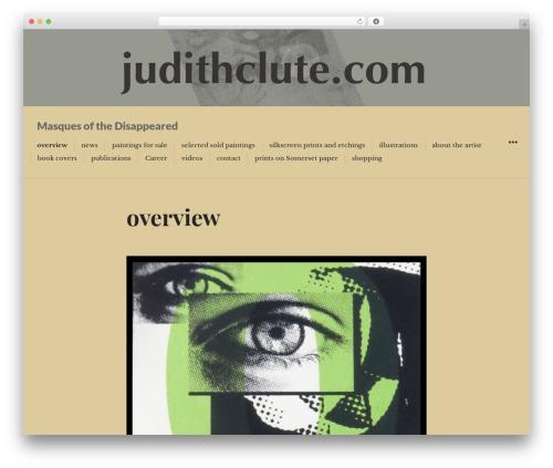 Resonar WP template - judithclute.com