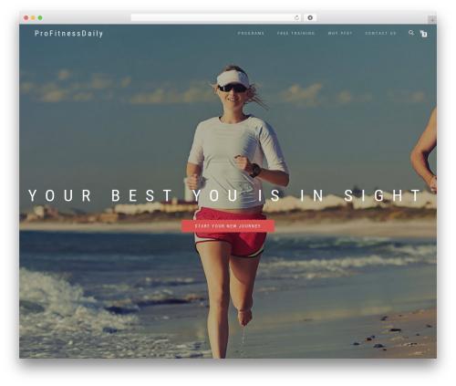 ShopIsle WordPress shopping theme - profitnessdaily.com