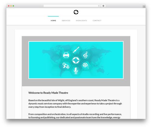 Theme WordPress X - readymadetheatre.com