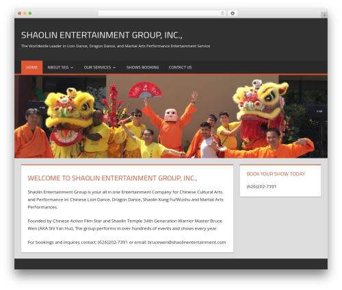 Free WordPress WP Header image slider and carousel plugin - shaolinentertainment.com