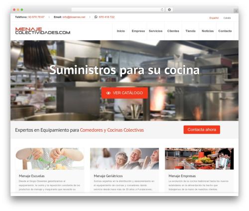 WP template Inspira - menaje-colectividades.com