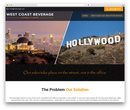 WP template SKT Launch - wcbeverage.com