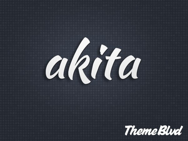 Akita WordPress template for business