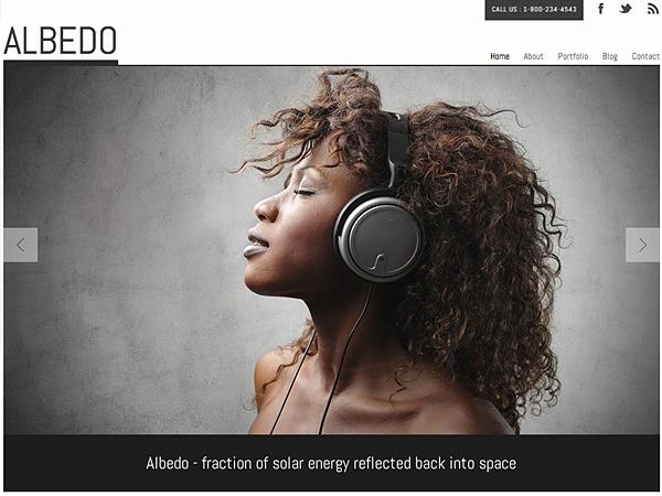 Albedo best WordPress theme
