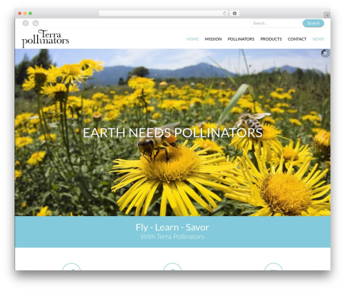 Ares theme WordPress - terrapollinators.com