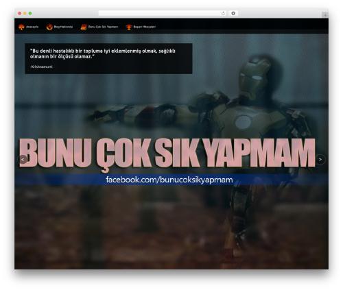 Axis template WordPress - theycallmealpha.com