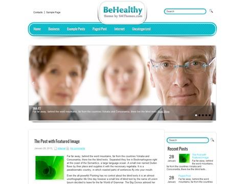 BeHealthy WordPress theme