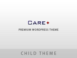 Care WP Child Theme WordPress blog template
