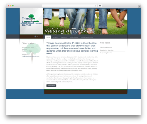Celta Business WordPress theme - trianglelearningcenter.com