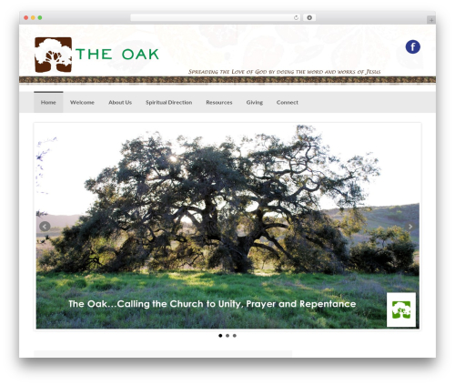 Coller template WordPress free - theoakrsm.org