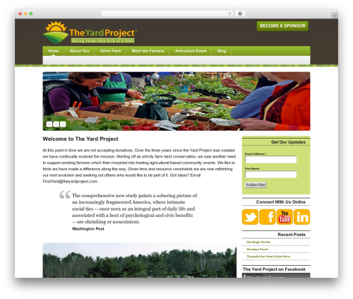 EcoGreen WP template - theyardproject.com