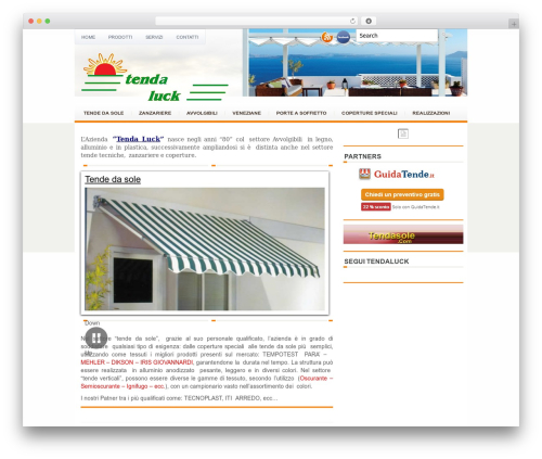 eTravel WordPress travel theme - tendaluck.it