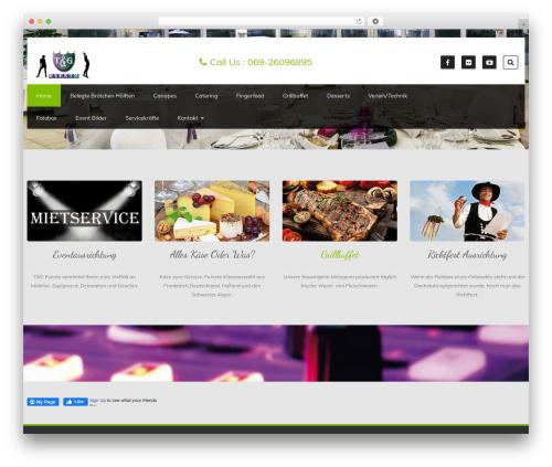 Foodeez Lite WordPress theme - tng-events.de