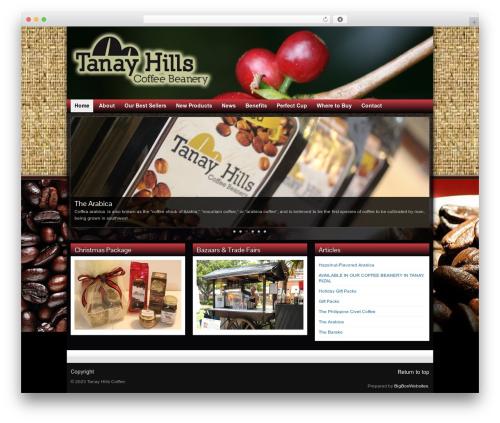Graphene free WP theme - tanaycoffee.com