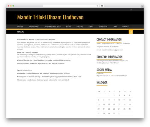 Karo Light WordPress theme - trilokidhaam.nl