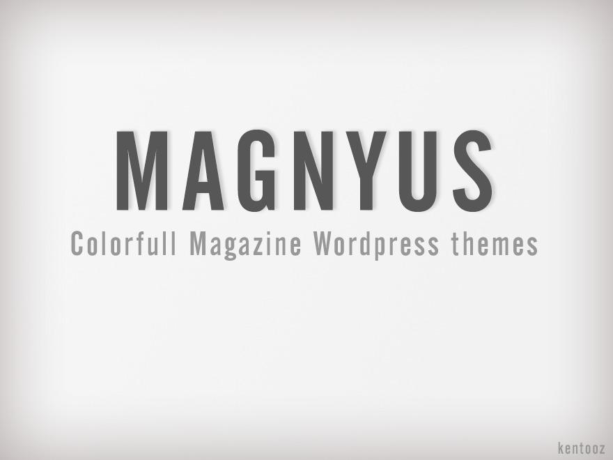magnyus best WordPress magazine theme