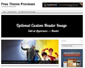 Minimo Wordpress Theme template WordPress