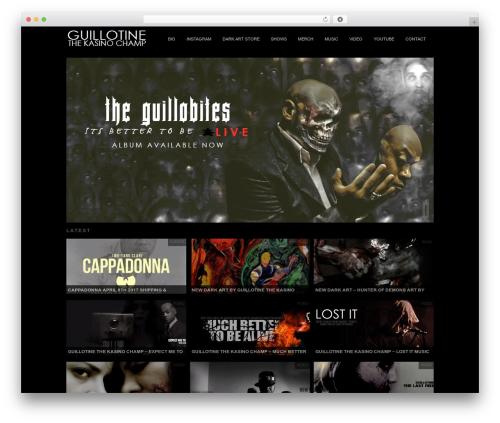 Modfolio WordPress theme - thekasinochamp.com