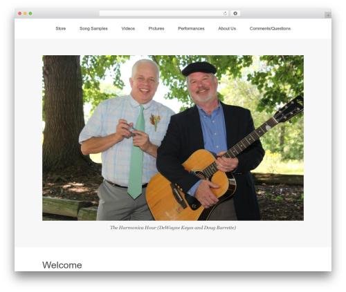 Omega free WP theme - theharmonicahour.com