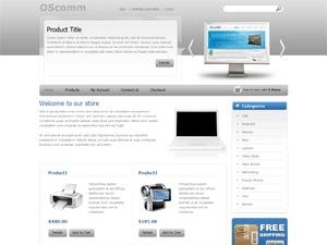 OSComm WordPress shopping theme