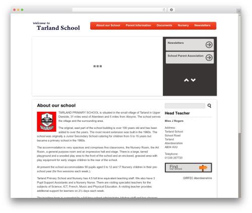 Peekaboo theme WordPress - tarland.aberdeenshire.sch.uk