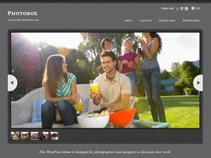 Photobox WordPress theme