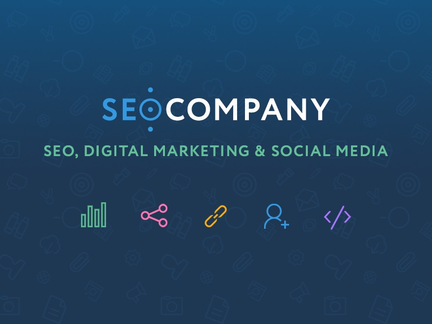 Seo Company Parent WordPress template for business