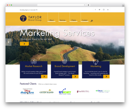 Free WordPress MailChimp for WordPress plugin - taylorbrandgroup.com