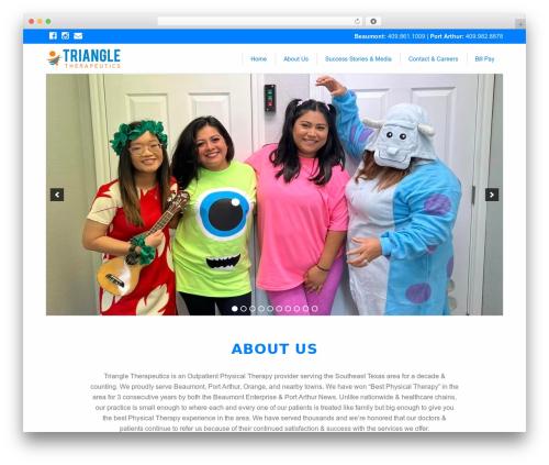 Template WordPress FoundationPress - triangletherapeutics.com
